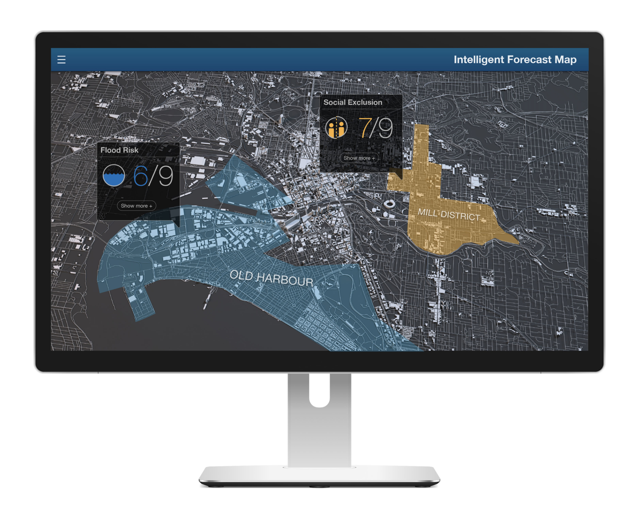 Intelligent Forecast Map